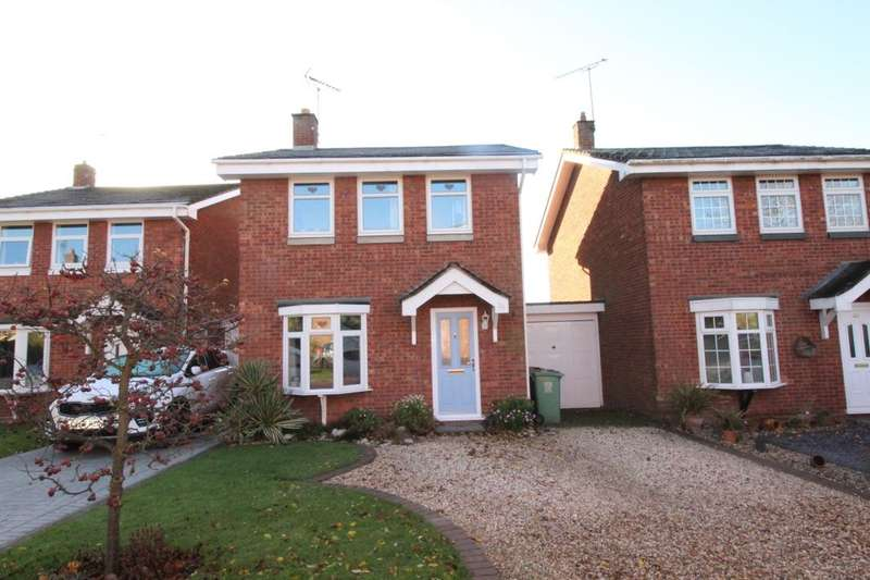 3 Bedrooms Detached House for sale in Shelmore Way, Gnosall, Stafford, ST20