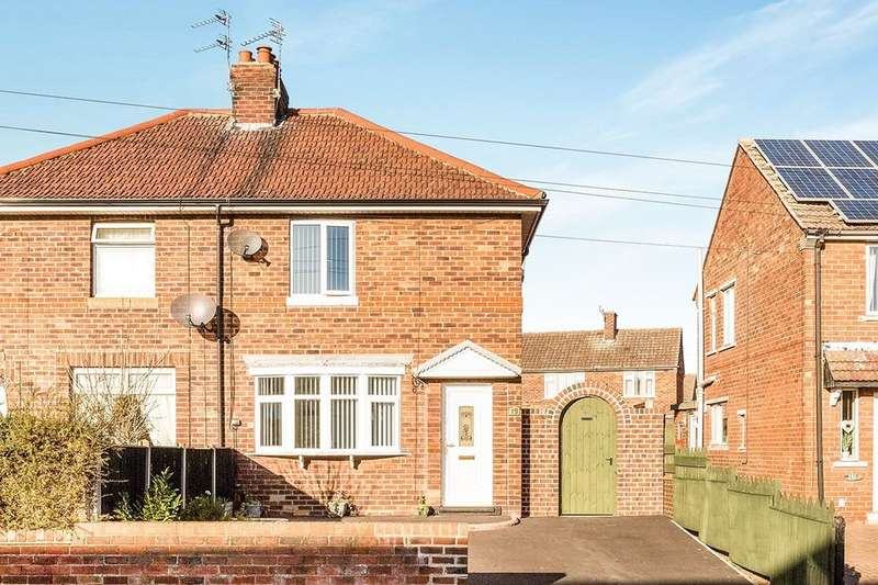 2 Bedrooms Semi Detached House for sale in Rands Lane, Armthorpe, Doncaster, DN3