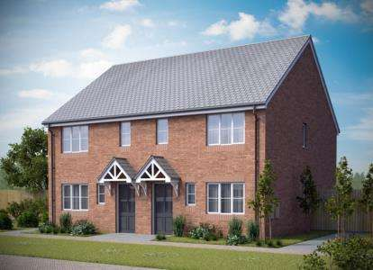 3 Bedrooms Semi Detached House for sale in Thornhill Fields, Welford Road, Wigston, Leicestershire