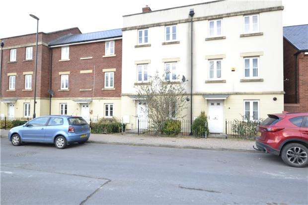 3 Bedrooms Town House for sale in Guan Road, Brockworth, Gloucester, GL3 4RJ