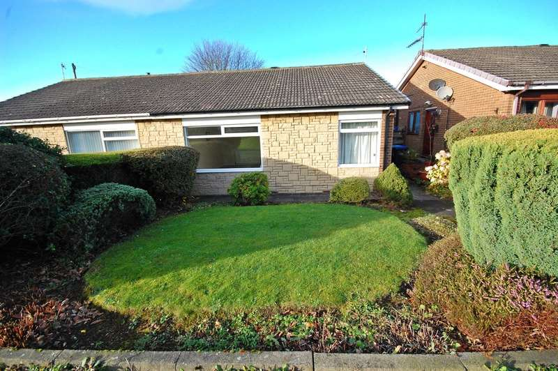 2 Bedrooms Semi Detached Bungalow for sale in Norwich Road, Newton Hall, Durham