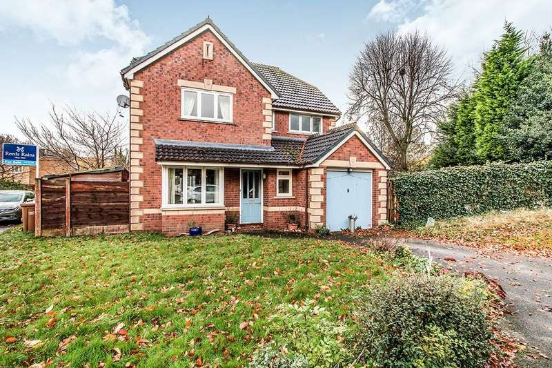 4 Bedrooms Detached House for sale in Keaton Close, Salford, M6