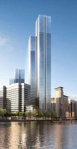 3 Bedrooms Flat for sale in South Quay Plaza., Canary Wharf, London, E14