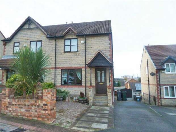 3 Bedrooms Semi Detached House for sale in Appleton Close, Dalton, Rotherham, South Yorkshire