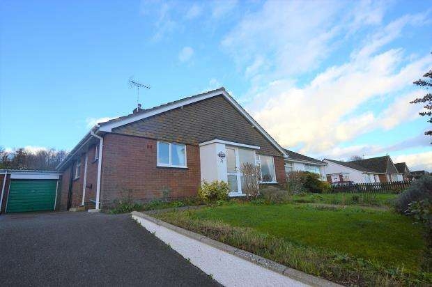 3 Bedrooms Semi Detached Bungalow for sale in Long Meadows, Crediton, Devon
