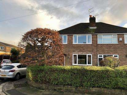 3 Bedrooms Semi Detached House for sale in Yarwood Close, Heywood, Greater Manchester, OL10