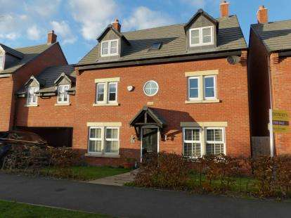 5 Bedrooms Detached House for sale in Saxon Drive, Rothley, Leicester, Leicestershire
