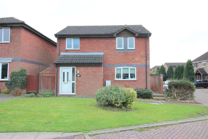 3 Bedrooms Detached House for sale in Harveys Hill, Luton, Bedfordshire, LU2 7YL