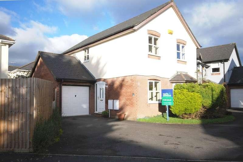 4 Bedrooms Detached House for sale in Middlegate Court, Cowbridge, Vale of Glamorgan, CF71 7EF
