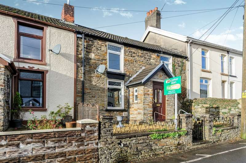 3 Bedrooms Cottage House for sale in Perthygleision, Aberfan, Merthyr Tydfil