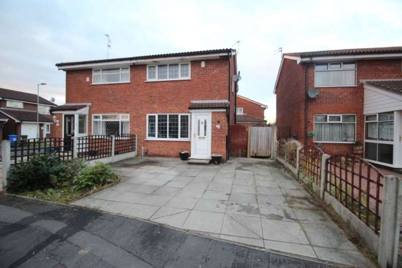 2 Bedrooms Semi Detached House for sale in Linnet Close, Audenshaw, Manchester, M34