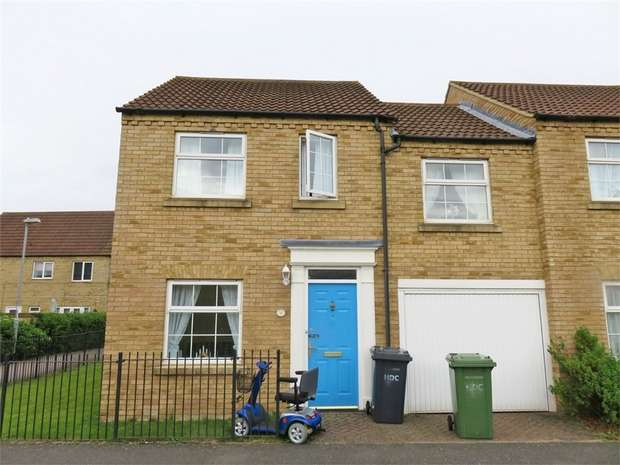 3 Bedrooms End Of Terrace House for sale in Chapman Way, Eynesbury, St Neots, Cambridgeshire
