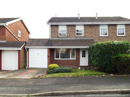 3 Bedrooms Semi Detached House for sale in Viscount Road, Chase Terrace