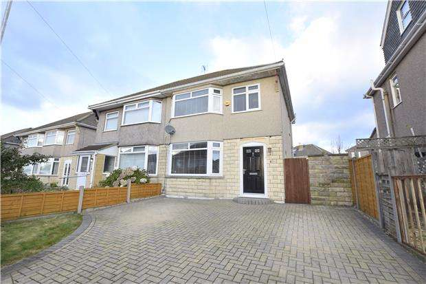 3 Bedrooms Semi Detached House for sale in Greenore, Hanham, BS15 8ER