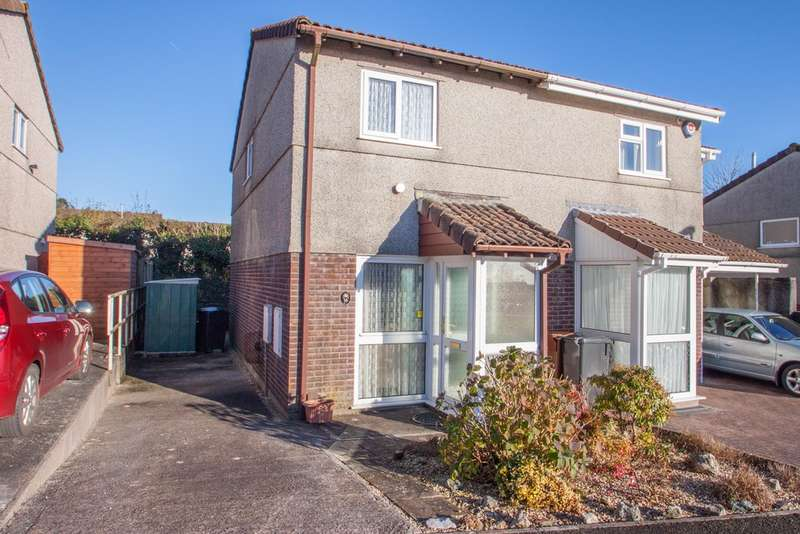 2 Bedrooms Semi Detached House for sale in Woolwell, Plymouth