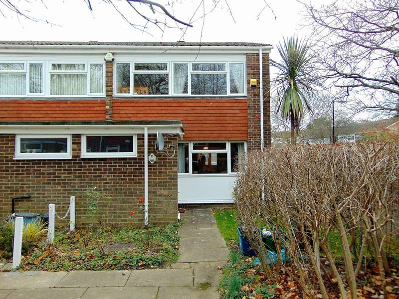 3 Bedrooms End Of Terrace House for sale in Woodpecker Mount, Pixton Way, Croydon, CR0 9JA