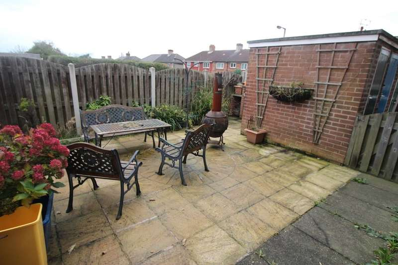 2 Bedrooms Flat for sale in Templar Close, Thurcroft, Rotherham, S66