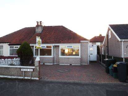 2 Bedrooms Bungalow for sale in Brook Road, Morecambe, Lancashire, United Kingdom, LA3