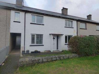 3 Bedrooms Terraced House for sale in Ffordd Mela, Pwllheli, Gwynedd, LL53