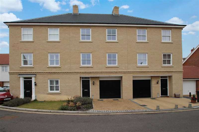 4 Bedrooms Town House for sale in Griffiths Close, Ipswich