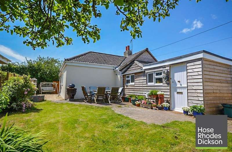 3 Bedrooms Detached Bungalow for sale in Manna Road, Bembridge