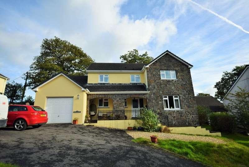 4 Bedrooms Detached House for sale in Nantyrhibo, Llandeilo, Carmarthenshire, SA19