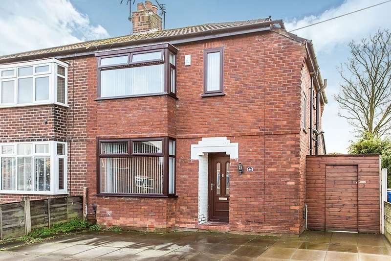 3 Bedrooms Semi Detached House for sale in Green Avenue, Astley,Tyldesley, Manchester, M29