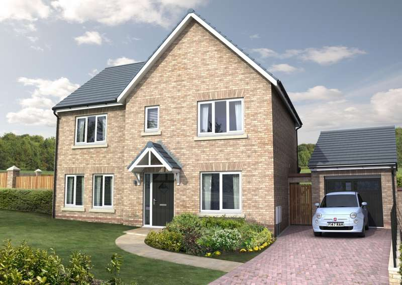 4 Bedrooms Detached House for sale in Cottier Grange, Prudhoe, NE42