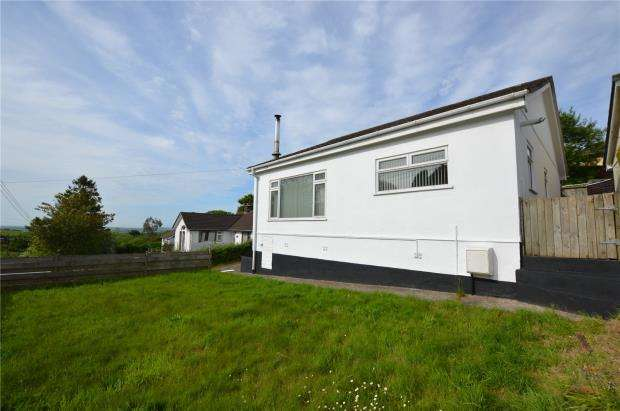 3 Bedrooms Detached Bungalow for sale in Shute Lane, Pensilva, Liskeard, Cornwall