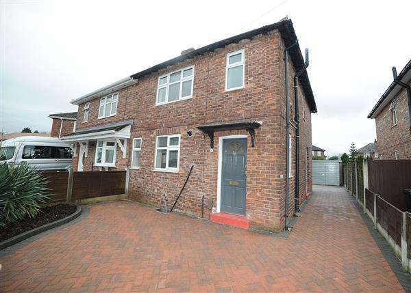 3 Bedrooms Semi Detached House for sale in 36 Fiddlers Lane, Irlam M44 6HN