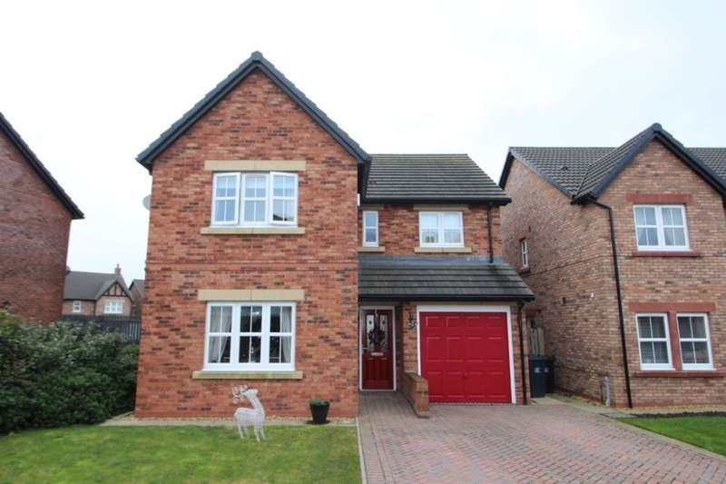 4 Bedrooms Detached House for sale in Kinmont Way, Kingstown, Carlisle, CA6