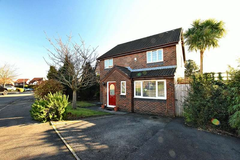4 Bedrooms Detached House for sale in Clos Cwm Creunant , Pontprennau, Cardiff. CF23 8LA
