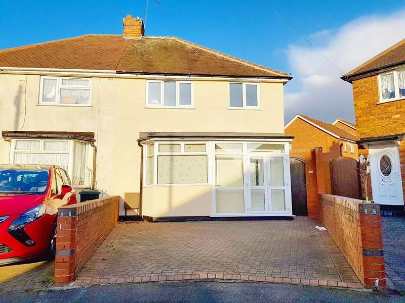 3 Bedrooms Semi Detached House for sale in KEYS CRESCENT, WEST BROMWICH, B71 1AX