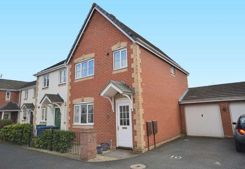 3 Bedrooms End Of Terrace House for rent in Foxglove Close, Lichfield