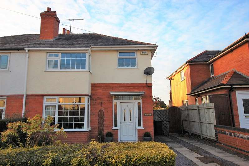 3 Bedrooms Semi Detached House for sale in Moorcroft Avenue, Boughton