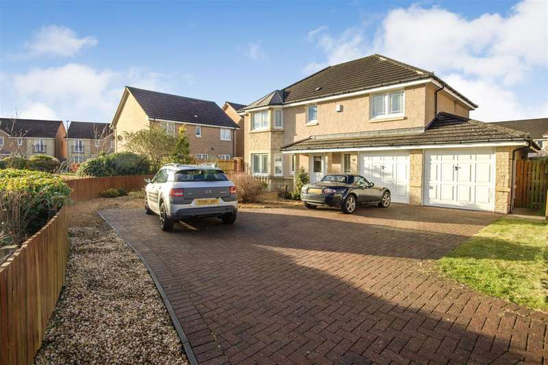 5 Bedrooms Detached House for sale in Cursiter Court, Larbert