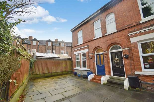 3 Bedrooms End Of Terrace House for sale in The Grove, Stockport, Cheshire
