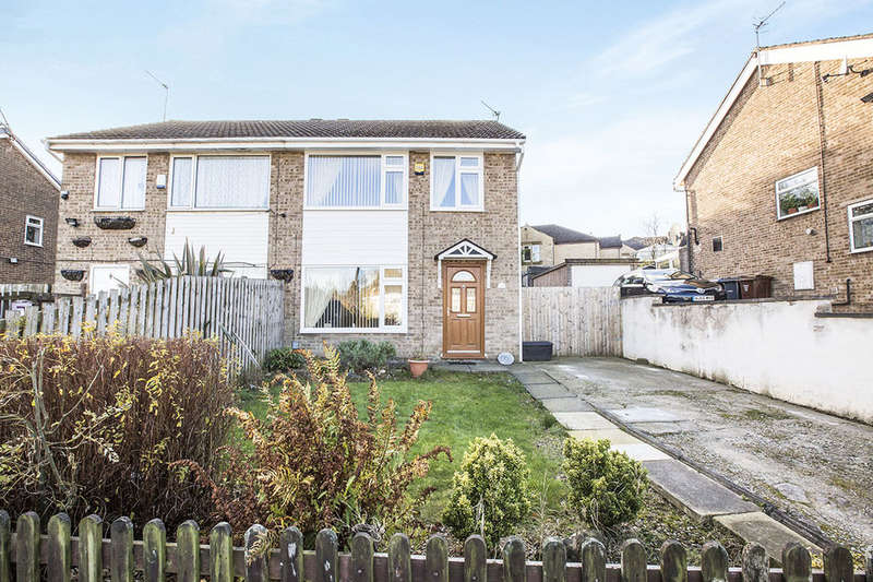3 Bedrooms Semi Detached House for sale in Pentland Avenue, Clayton, Bradford, BD14