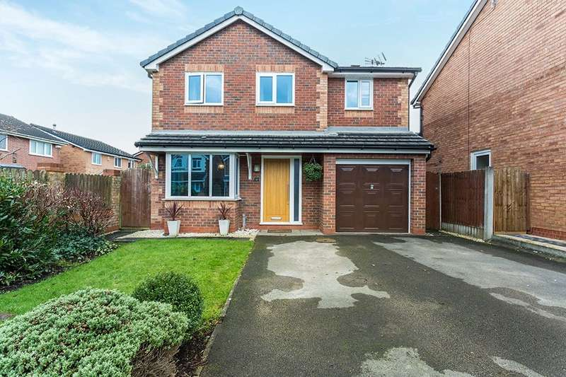 4 Bedrooms Detached House for sale in Poppyfield, Cottam, Preston, PR4
