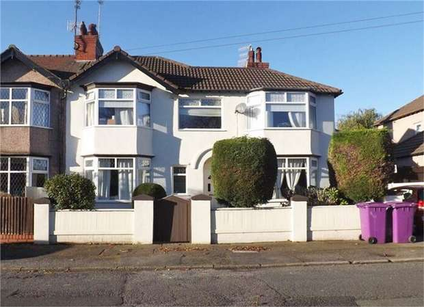 3 Bedrooms Semi Detached House for sale in Gressingham Road, Liverpool, Merseyside