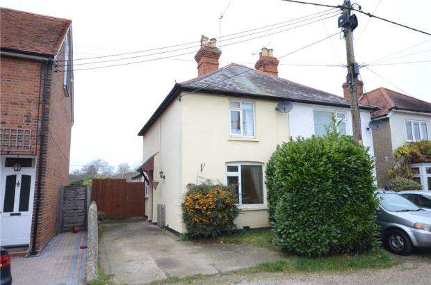 2 Bedrooms Semi Detached House for sale in Graham Road, Cookham, Berkshire
