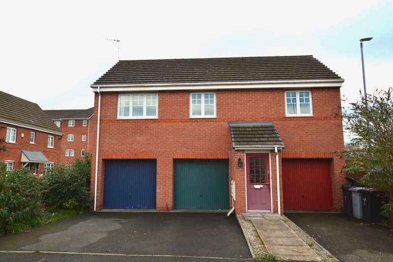 2 Bedrooms Detached House for sale in Harrison Drive, Crewe, CW1