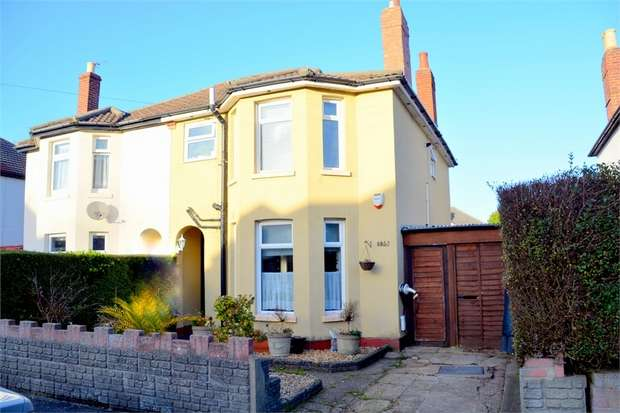 3 Bedrooms Semi Detached House for sale in Stewart Road, Bournemouth, Dorset