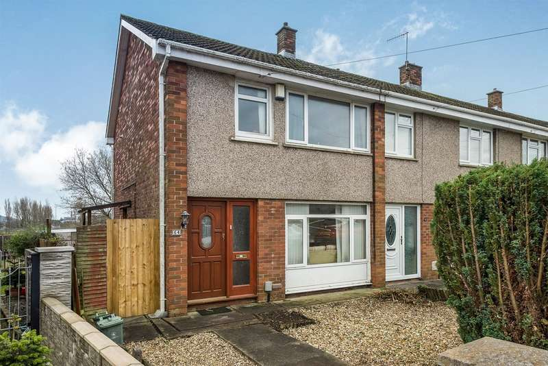 3 Bedrooms End Of Terrace House for sale in Glyncollen Crescent, Ynysforgan, Swansea