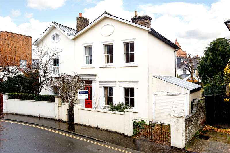 3 Bedrooms Semi Detached House for sale in Lower Teddington Road, Hampton Wick, KT1