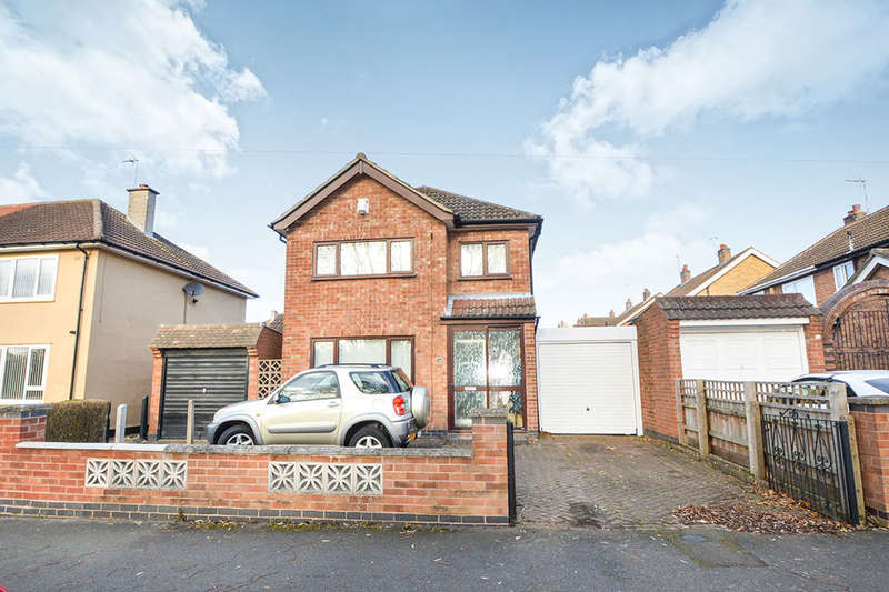 3 Bedrooms Detached House for sale in New Romney Crescent, Leicester, LE5