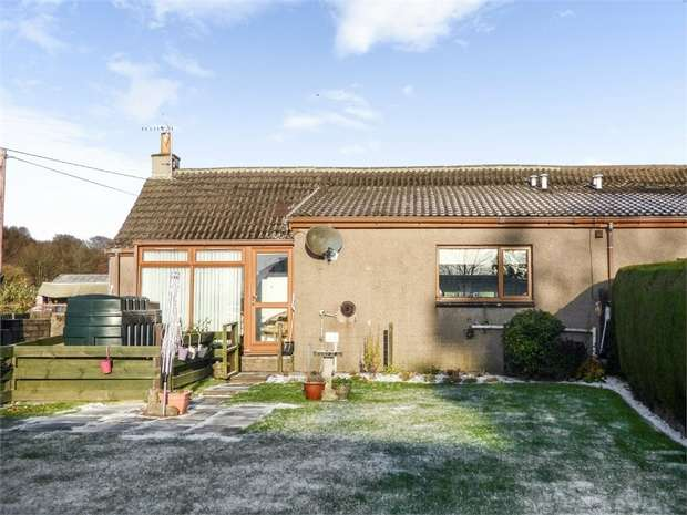 2 Bedrooms Semi Detached Bungalow for sale in Carmyllie, Carmyllie, Arbroath, Angus