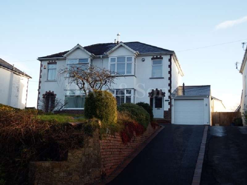 4 Bedrooms Semi Detached House for sale in Usk Road, Pontypool, Monmouthshire. NP4 8AA