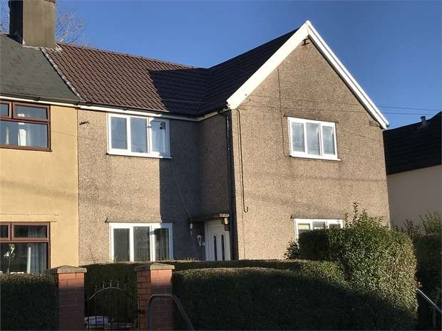 3 Bedrooms Semi Detached House for sale in Dyffryn Crescent, Rhydyfelin, Pontypridd, Mid Glamorgan