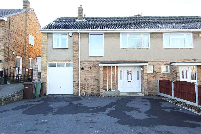 4 Bedrooms Semi Detached House for sale in Springhill Drive, Crofton, Wakefield, Yorkshire, WF4 1EX